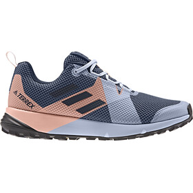 adidas TERREX Two GTX Low-cut Kengät Naiset, tech ink/legend ink/glossy pink